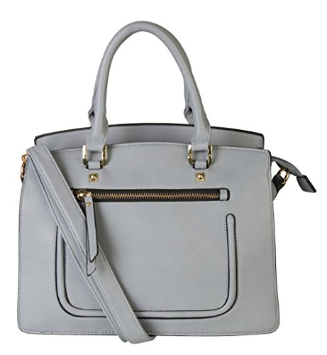 rimen-co-womens-fashion-top-handle-women-handbags-divided-compartment-front-zipper-pocket-tote-satch