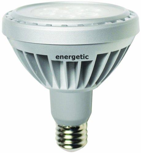 Energetic Lighting Ele10D-Pln35-Vb Led 10-Watt Dimmable Par 30, 35-Degree Beam Spread Long Neck Flood Lamp, Bright White