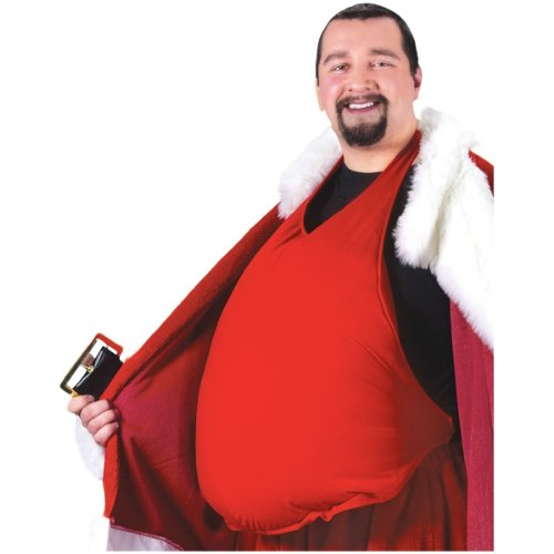 Padded Santa Belly Santa Claus Costume Accessory