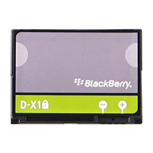 BlackBerry DX-1 Original Li-Ion Battery for BlackBerry Curve 8900, Tour 9630, Storm 9500 9530 and Storm2 9550