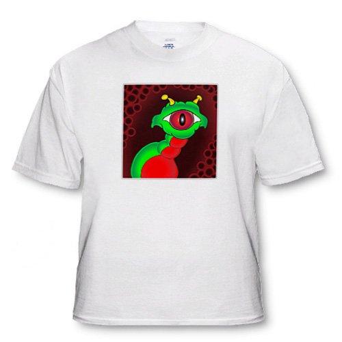 ALIENS AND UFOS alien creeper framed - Adult T-Shirt Medium