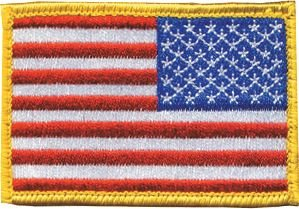 BLACKHAWK! American Flag Patch in Red, White, Blue - Reversed перчатки для туризма black hawk 34523452