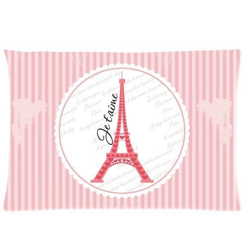 Pink Paris Bedding front-1075541