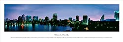 Framed Orlando, Florida Panoramic Picture Photograph