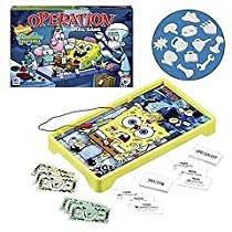 Groovy Kid Gear - Hasbro Operation SpongeBob Edition :  hasbro operation spongebob edition edition groovy operation