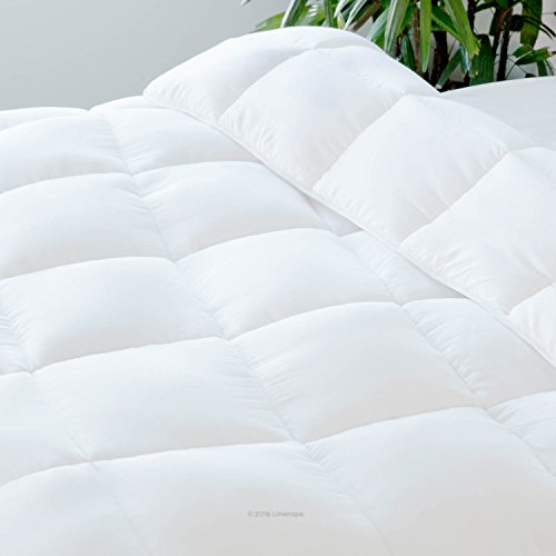 LINENSPA-All-Season-White-Down-Alternative-Quilted-Comforter-with-Corner-Duvet-Tabs