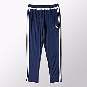 adidas Performance Men's Tiro Training Pant, Medium, Dark Blue/White/Dark Blue