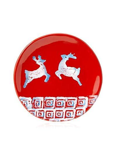 Modigliani Reindeer Appetizer Plate