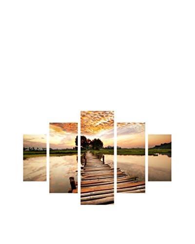 Miracle Wandbild 5 tlg. Set St214 mehrfarbig