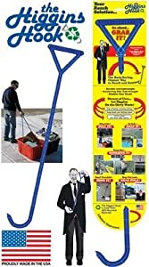 The Higgins Hook - Reach & Retreive Tool for Boats, Pools, Tubs, Baskets, or Anything You Can Imagine