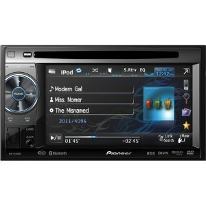 "Pioneer AVH-P2400BT Car DVD Player - 5.8"" Touchscreen LCD Display - 16:9 - 480 x 240 - 200 W RMS - iPod/iPhone Compatible - Double DIN from Pioneer"