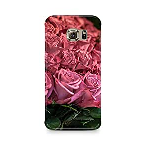 Motivatebox - Pink and Red roses Samsung S7 cover- Matte Polycarbonate 3D Hard case Mobile Cell Phone Protective BACK CASE COVER. Hard Shockproof Scratch-Proof Accessories