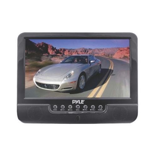 """Pyle Plmn9Su 9"""" Widescreen Lcd Monitor With Usb Sd Inputs Speakers & Remote"""