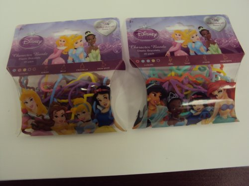 Goto Forever Collectibles Disney Princess Logo Bandz Series 1 & 2 Set Free Carabina to Carry Your Bandz! Details