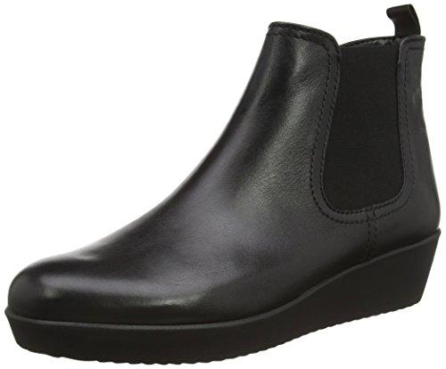 Gabor Shoes Comfort Basic, Stivaletti Donna, Nero (Schwarz (Micro) 57), 42 EU
