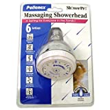 Pollenex 6 setting Chrome Shower Head