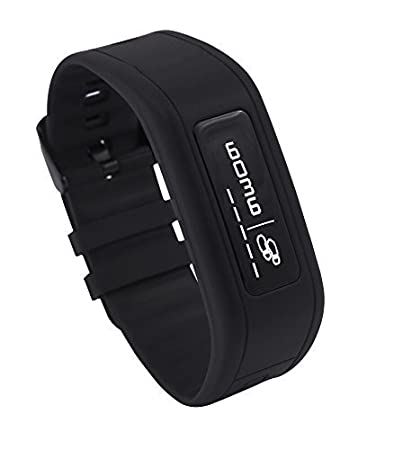 GOQii Life Fitness Band with Personal Coaching (No separate charger. Integrated USB charger present on device) By Amazon @ Rs.3,999