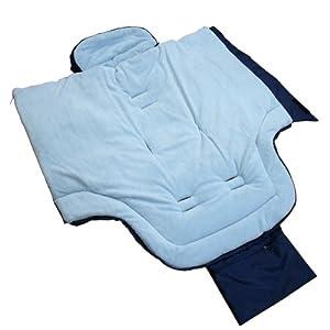 Infantastic® - Saco portabebé de forro polar aprox. 46 x 96 cm (diferentes colores a elegir) en BebeHogar.com