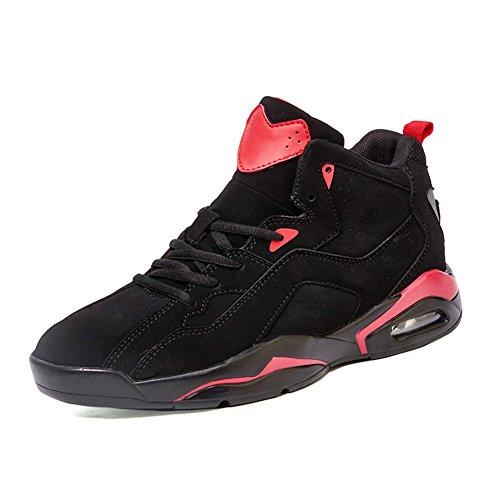 KIU scarpe alte cuscino moda autunno/Traspirante anti-skateboarding shoes/Tempo libero sport di scarpe da uomo-B Lunghezza piede=25.8CM(10.2Inch)