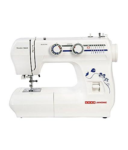 Usha Wonder Stitch Sewing Machine   White available at Amazon for Rs.11800