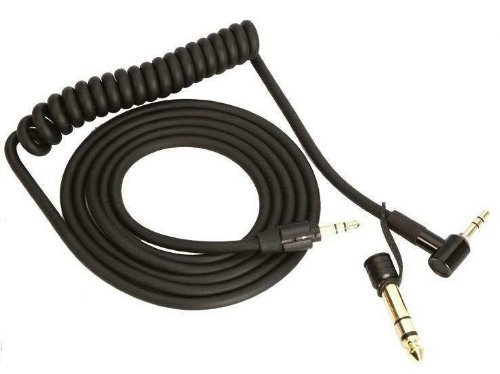 Goodies® Black Replacement Cable/Wire/Cord For Beats By Dr Dre Headphones Pro/Detox