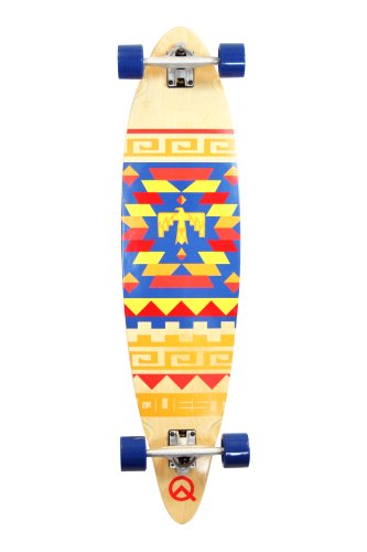 Find Cheap Quest Tribes Pin Kick Tail Longboard Skateboard, 40-Inch