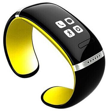HYSJY® Hot New Fashion Men/women Bluetooth Touch Screen Smart Watch Wrist Wrap Watch Phone for IOS(Part function) Android (Full Function) (12S-Yellow)