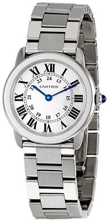 "buy Cartier Women'S W6701004 ""Ronde Solo"" Stainless Steel Watch With Link Bracelet"