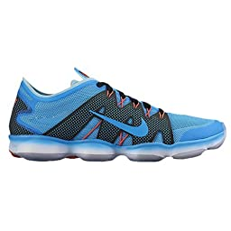 Nike Air Wmns Zoom Fit Agility 2 806472-400 Blue Lagoon Sz 9.5 (26.5 Cm)