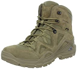 Lowa Men\'s Zephyr GTX Mid Hiking Boot,Coyote/Olive,8 M US