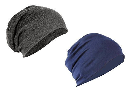 If you feel that woolen skulcaps overheat your ears and head and yet want something to protect them from the wind, then I'd recommend this pair of cotton beanies.   These beanies aren't as head hugging as conventional skullcaps. They are also made of cotton as opposed to most skullcaps which are made of wool. Therefore you can comfortably wear them for longer periods of time. These would prove to be highly useful to those who workout early in the morning or to those who ride bikes.  Personally I really appreciate the fact that they dont make my ears and forehead sweaty and itchy, and I can wear them all day. These can be sported with either sportswear or casual wear. Definitely something to purchase this winter.