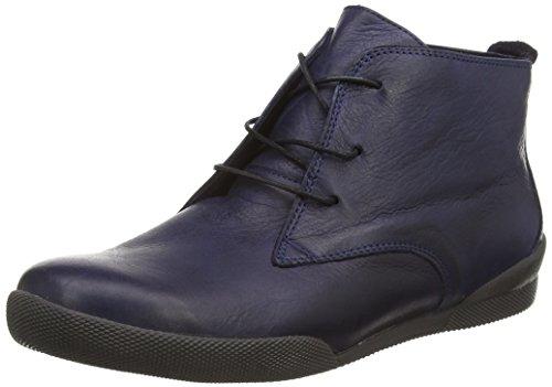 Andrea Conti0340507 - Sneaker alta Donna , Blu (Blau (017)), 42