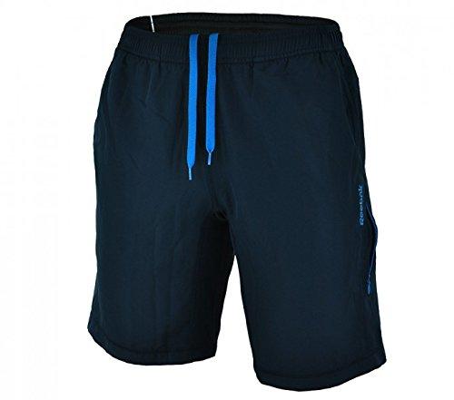 Reebok Woven Short IIC Play Dry pantaloni sportivi regolari formazione corta Uomini Navy, Größe Bekleidung:S