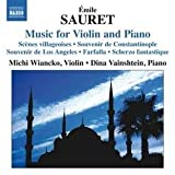 echange, troc Emile Sauret, Michi Wiancko, Dina Vainshtein - Musique Pour Violon Et Piano