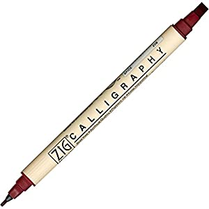 Zig Memory System Calligraphy Marker Spice