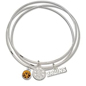 NHL Boston Bruins Triple Bangle Bracelet