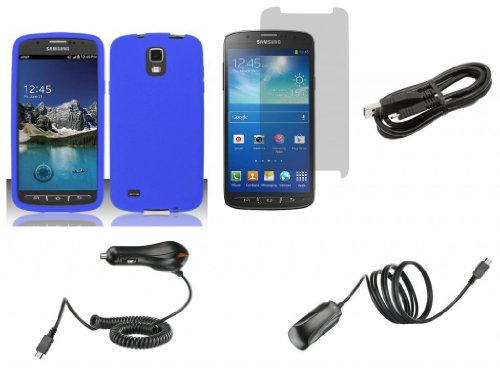 Samsung Galaxy S4 Active - Accessory Kit - Blue