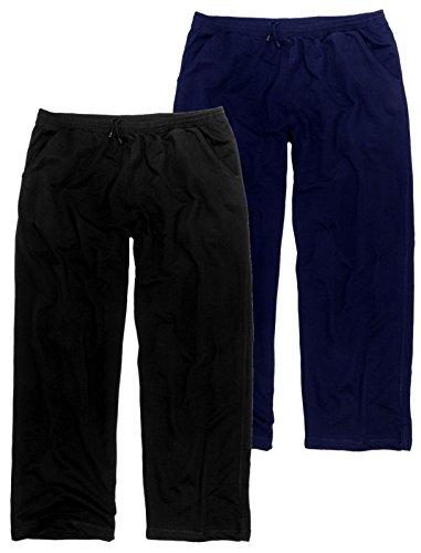 Adamo Jogginghose lang 3XL-58/60 bis 12XL-90/92 schwarz oder blau