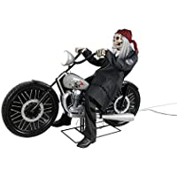 Home Accents Holiday 53 in. Motorcycle Riding Reaper