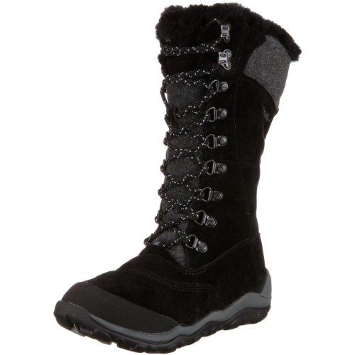 Cat Footwear Women's Caribou Black Fur Trimmed