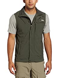 Columbia Men\'s Silver Ridge Vest, Gravel, Medium