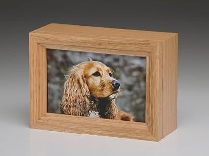 Pet Cremation Urns Wood Pet Urn Peaceful Pet Oak Wood