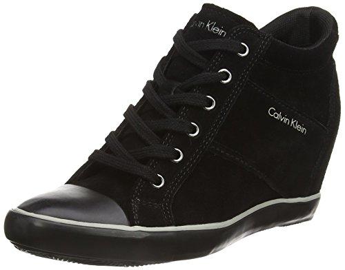 calvin-klein-voss-suede-zapatillas-altas-de-cuero-mujer-color-negro-talla-37