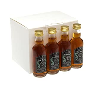Poit Dhubh 21 year old Single Malt Scotch Whisky 5cl Miniature - 12 Pack from Poit Dhubh