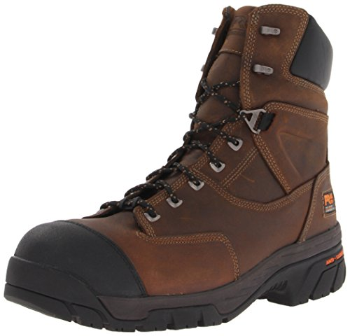 Timberland PRO Men's Helix 8 Inch Insulated Comp Toe Work Boot,Brown,7 M US (Timberland Insulation compare prices)