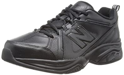 New Balance Mens Indoor Multisport Court Shoes MX624AB Black 6.5 UK, 40 EU