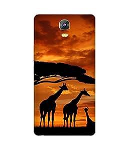 Giraffe Family Gionee Marathon M5 Case