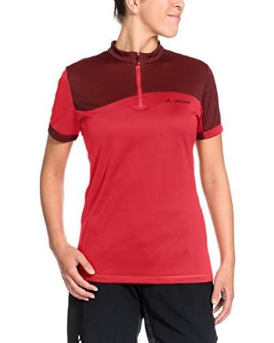 VAUDE Camiseta Manga Corta Rojo