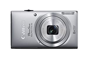 Canon PowerShot ELPH 115 IS 16.0 MP Digital Camera with 8x Optical Zoom with a  28mm Wide-Angle Lens and 720p HD Video Recording (Silver)