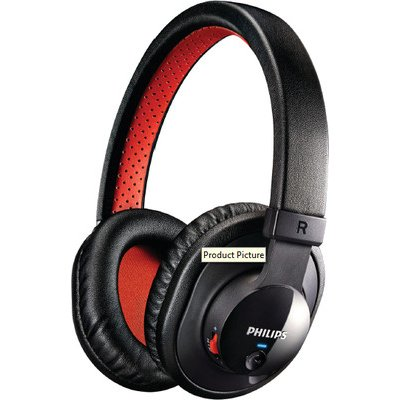 Philips SHB7000 wireless mobile computers wired stereo headset Bluetooth headset tide